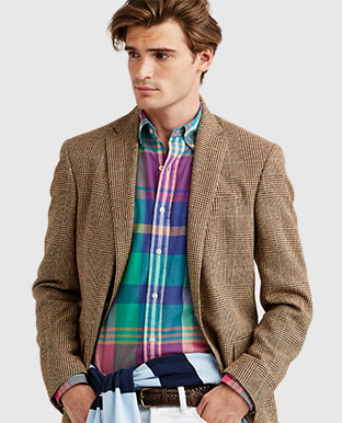 Polo Glen Plaid Sport Coat