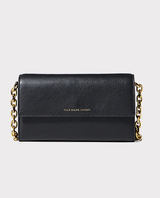 Nappa Leather Chain Wallet