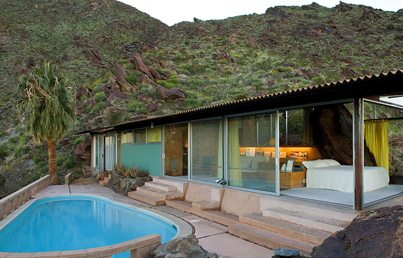 <span>Albert Frey&apos;s hillside home in Palm Springs set the tone for a distinct mid-century style, known as Desert Modernism</span>