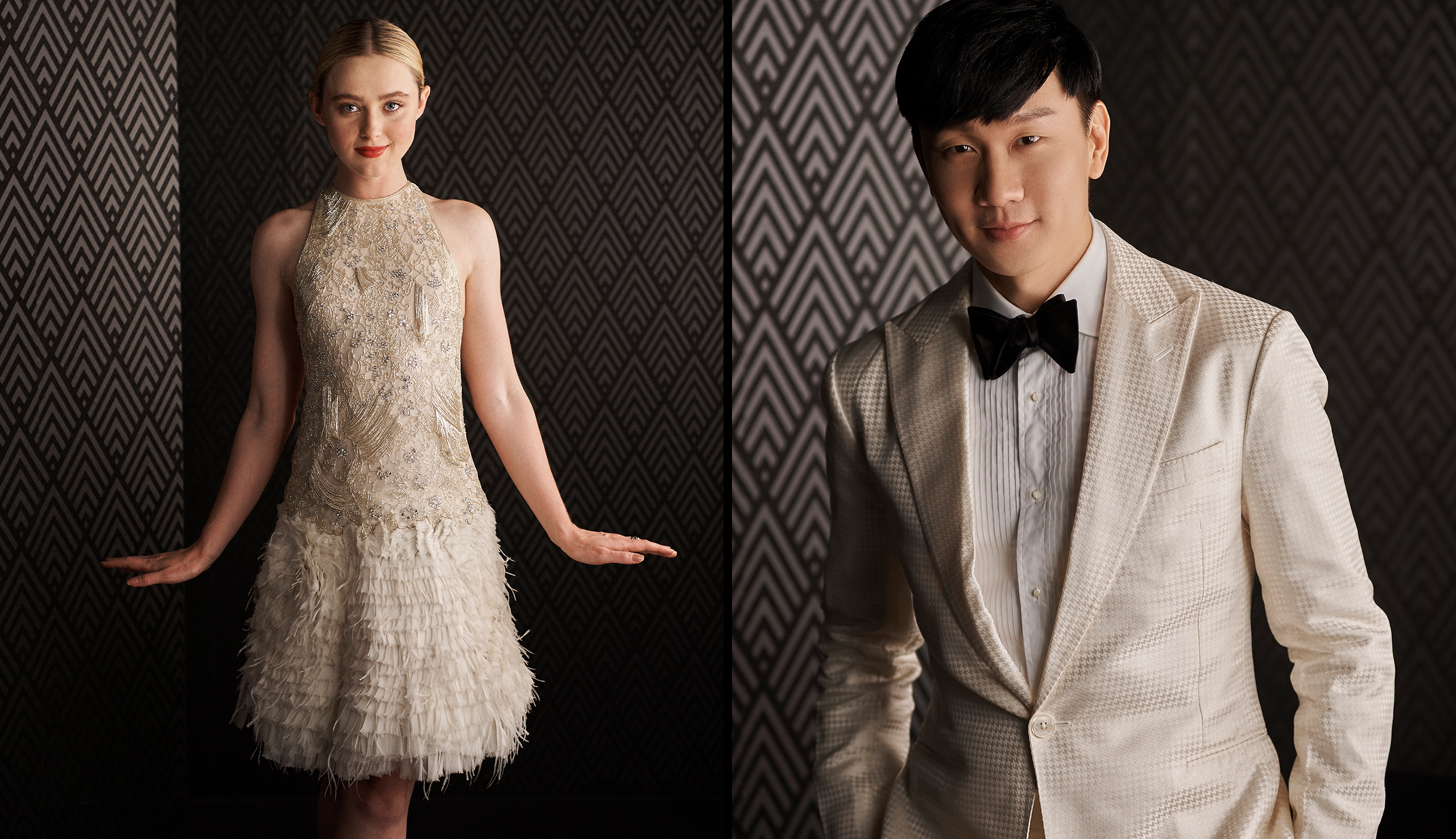 Left: Kathryn Newton; Right: JJ Lin
