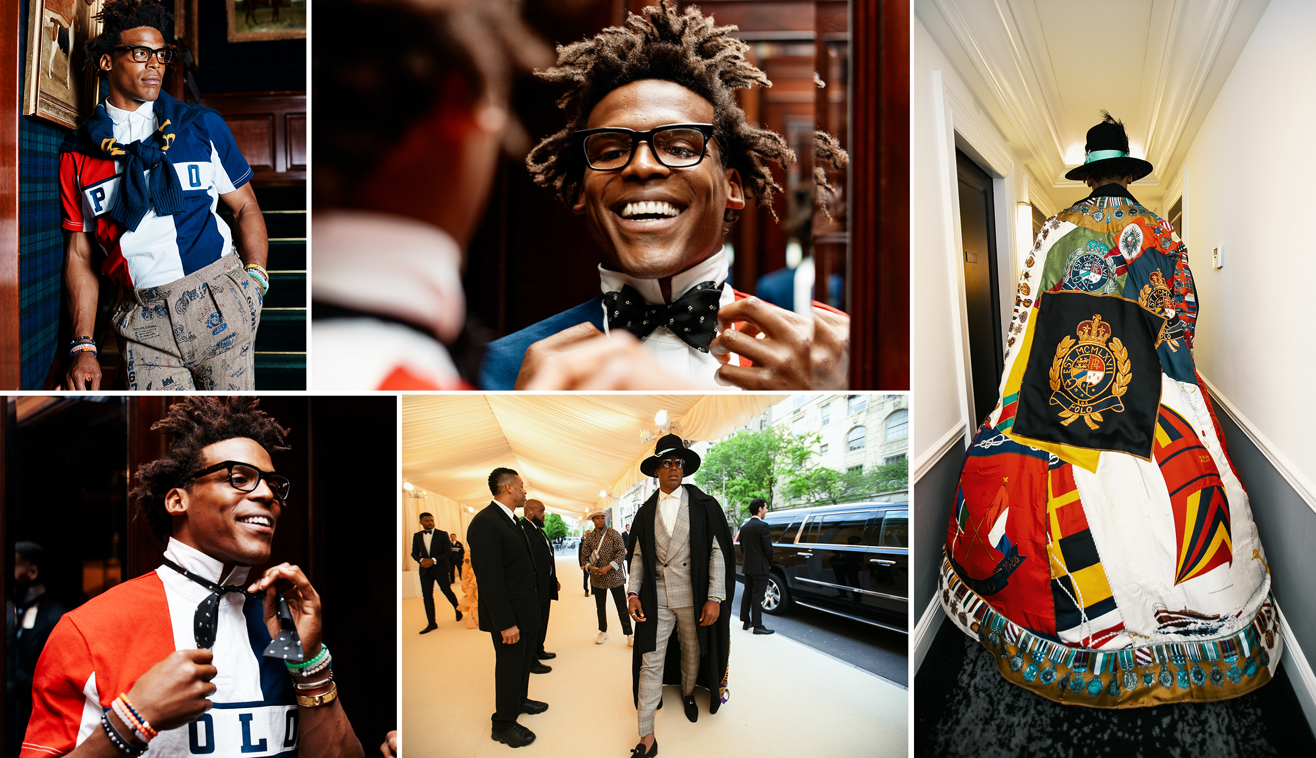 Highlights from Cam's visit to RL HQ, his trip to our Madison Ave. flagship, and the 2019 Met Gala