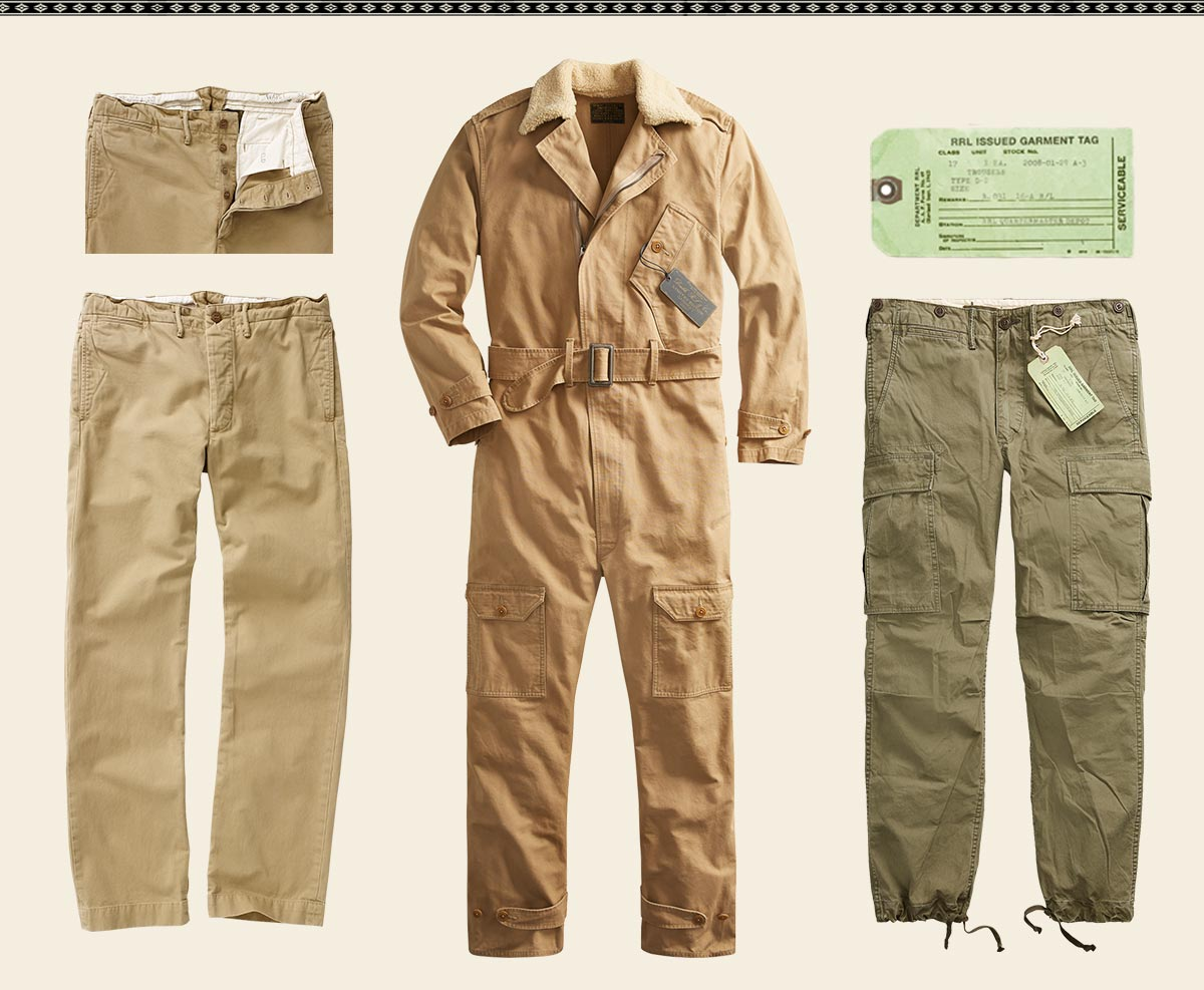 Cargo pants & jumpsuits