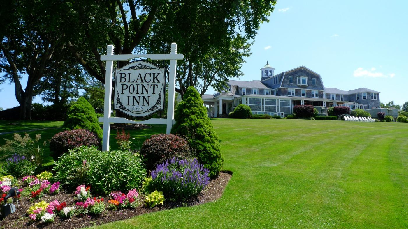 Built in 1878, the Black Point Inn has long served as a gracious playground for artists, rail barons and political leaders