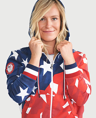 Team USA Tech Fleece Hoodie