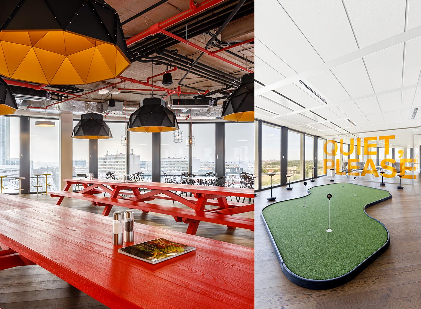 <strong>AVAST SOFTWARE: PRAGUE | </strong>Security software maker Avast turned the clich&#xE9; of an executive putting green on its head, placing a golf simulator at the center of its airy office in Prague