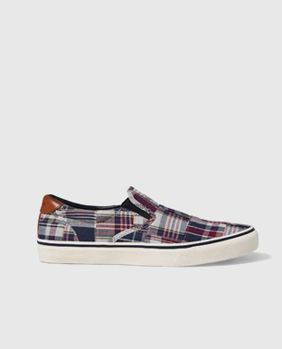Thompson Madras Sneaker