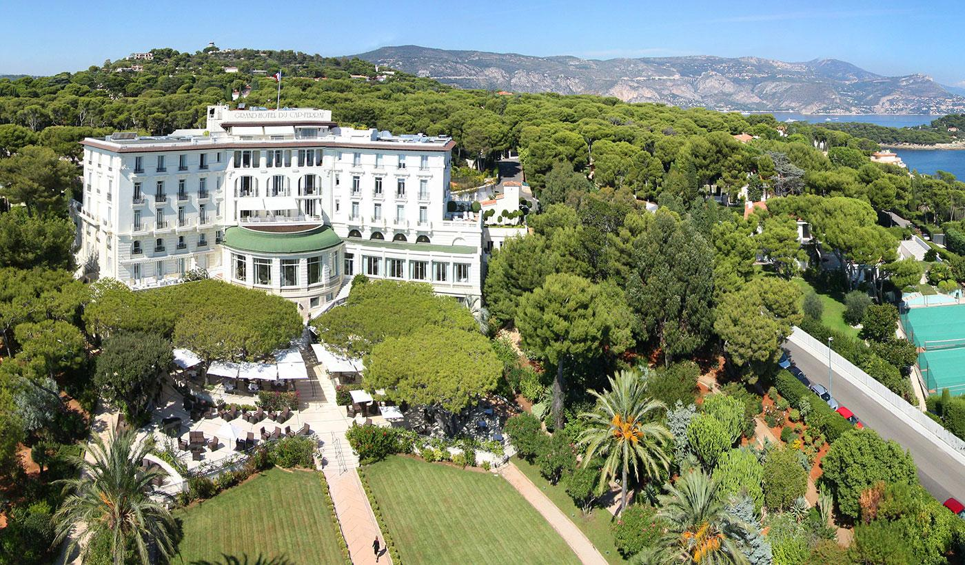 Historic and majestic, the Grand-Hôtel du Cap-Ferrat is patrician glamour in an idyllic setting