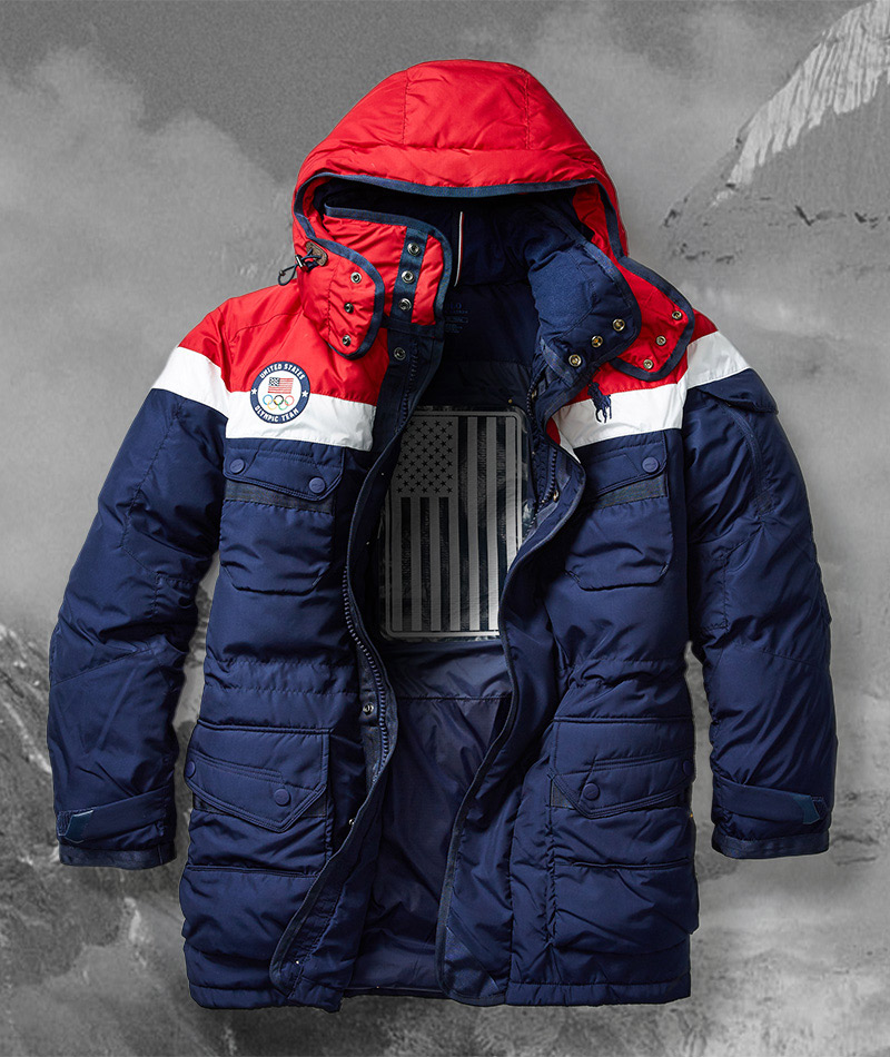 The Ralph Lauren limited-edition opening ceremony parka