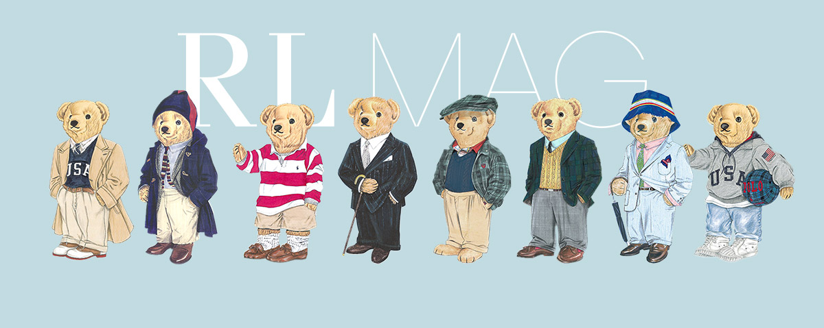 Drawings of Polo Bears wearing various outfits