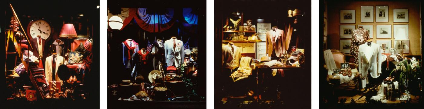 In 1986, these seasonal window displays at the mansion set a new standard