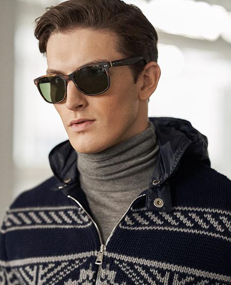 Wool-Blend Full-Zip Sweater