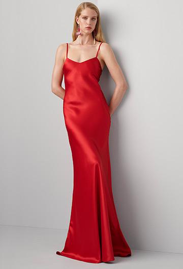 Evelyn Silk Slip Dress