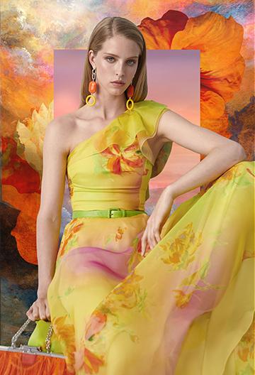 Makalla One-Shoulder Dress