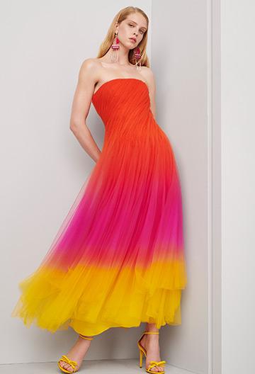 Clementine Ombré Tulle Dress