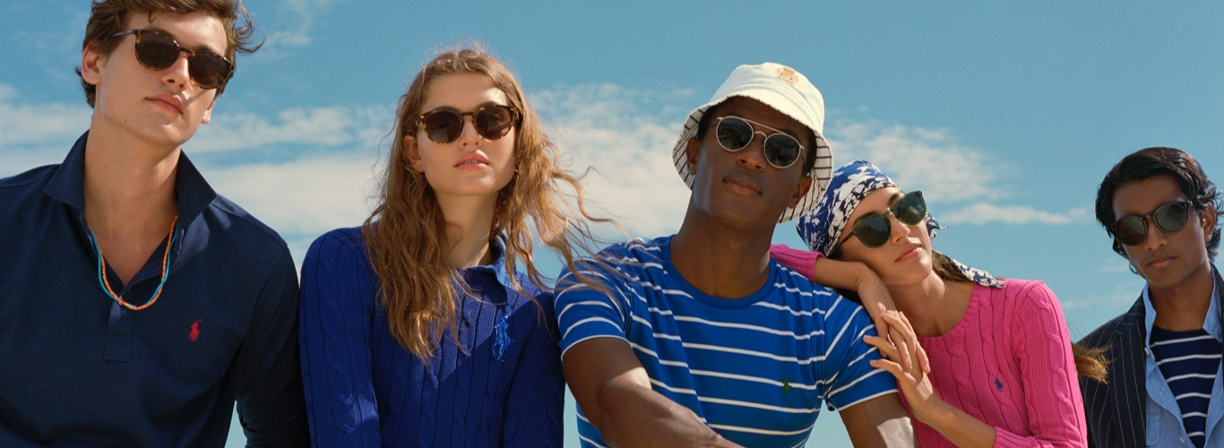 Men on boat in tortoiseshell sunglasses