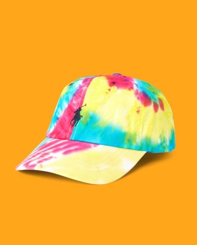 Tie-Dye Chino Ball Cap