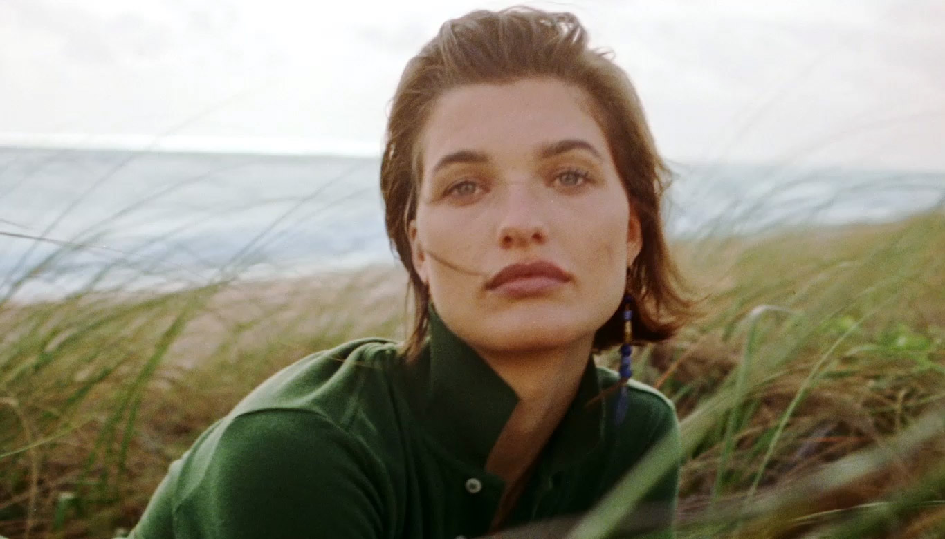Video of models wearing The Earth Polo shirt.