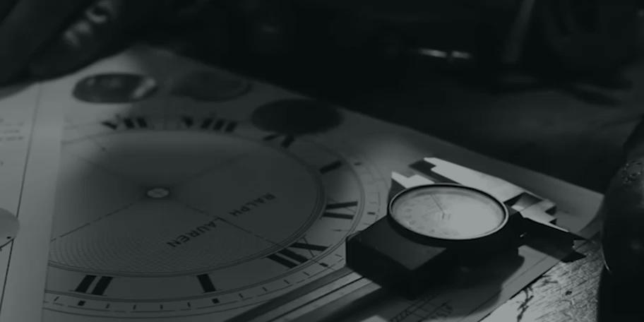 Video highlighting Ralph Lauren's watchmaking process