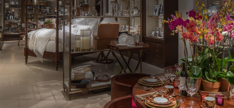 Ralph Lauren Home showroom