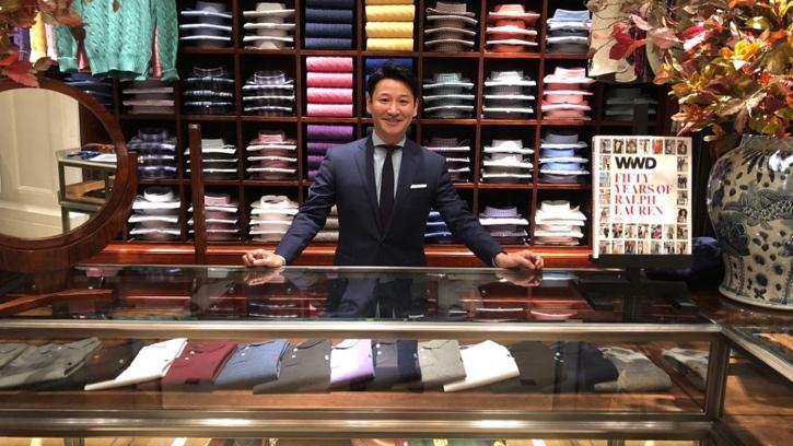 Store associate at Ralph Lauren store